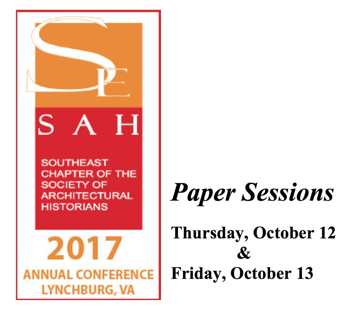SESAH Lynchburg 2017 Program